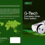 G-Tech Frameless Glass Door System-1