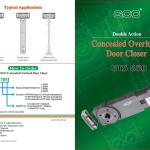 GTS-850 Double Action Concealed Overhead Door Closer-1